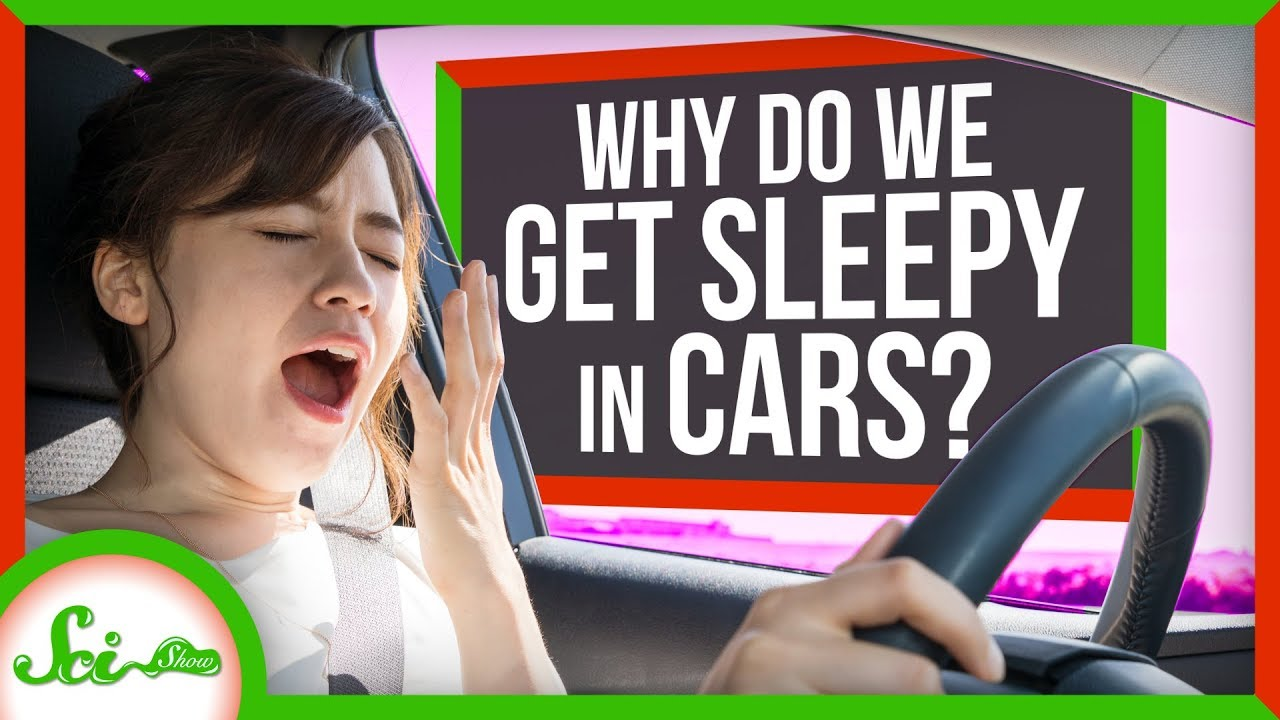 運転中に眠くなるのはなぜなのか? ドライブと眠気の関係性