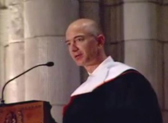 「才能と選択の違いを知ること」 Amazon創業者ジェフ・ベゾスが卒業式で語った、道の切り開き方
