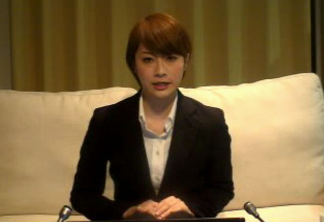 【全文】「地震なんてないよ!」東森美和・説明会見 「地震気付かなかった」「タバコは友達のもの」