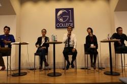 為末大氏「立派すぎて返す言葉もないです(笑)」 学生たちのプレゼンに圧倒される–G1 カレッジ2014