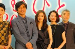北川景子「無償の愛がいちばん」 理想の夫婦像を明かす – 『愛を積むひと』完成会見