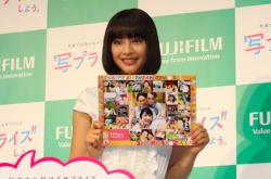 広瀬すず「共演者を隠し撮りしてる」 富士フィルムの新CM発表会で写真好きの一面明かす