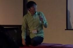 さくら田中社長が鹿児島で講演 スタートアップ支援の使命を語る