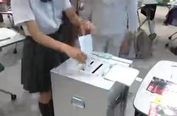 高校生が選挙体験 各党の政策で気になった論点は?