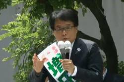 「子育て、高齢化、災害の3つの不安を解消する」増田寛也氏が第一声