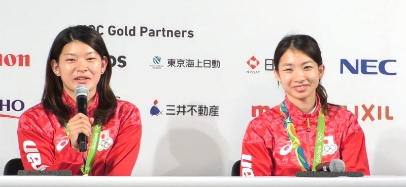 【全文】タカマツペア、日本バドミントン史上初の金メダル「2人で10年乗り越えてきてよかった」リオ五輪記者会見