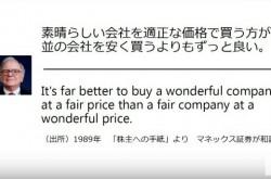 成長ベンチャーの株はいつ買うべきか Google・Appleに対するバフェットの哲学