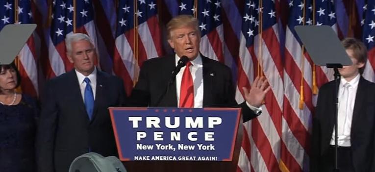【全文】大統領当確、トランプ氏の勝利演説「この国にアメリカンドリームを取り戻す」