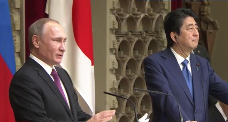 【全文】プーチン大統領が共同記者会見で声明「平和条約が存在しないのは時代錯誤」
