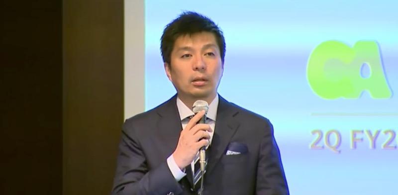 CA藤田晋氏「競合らしき競合は出る気配もない」第2四半期、AbemaTV1周年を総括