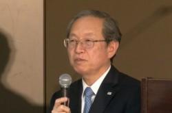 東芝綱川社長「自信がある数字です」意見不表明でも決算発表に踏み切った理由