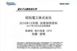 昭和電工、2ヵ月の決算発表遅延を謝罪 孫会社の60億円不正計上を受けて