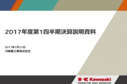 川崎重工業、航空宇宙が収益悪化 1Q営業利益は69.2%減