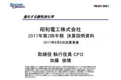 昭和電工、営業利益202.9%増の350億円 石油化学・エレクトロニクス好調で