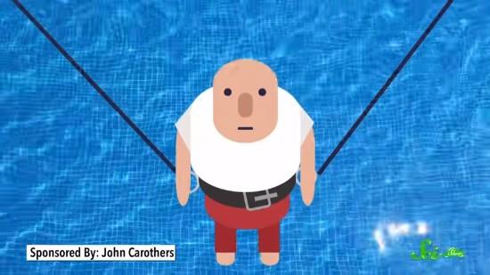 人間は水の上を走れないのか? 沈まずに駆け抜けるための条件を科学的に解説