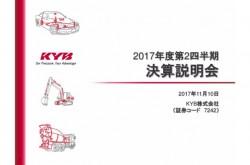 KYB、建機市場・構造改革好調で上期は増収増益 中間配当増配へ