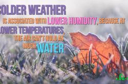 寒い時期に風邪をひきやすくなるのはなぜ?