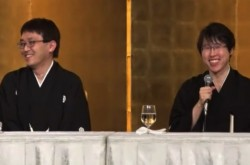 【全文1/2】国民栄誉賞受賞の羽生善治・井山裕太両氏が会見 互いの印象は「尊敬という言葉では言い表せない」
