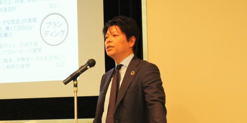 SHIFT丹下氏「会社の成長は、視座の高さで決まる」 四半期売上高は初の30億円超えを達成