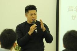 芦名勇舗氏、マッチョ社長Testosterone氏との出会いを語る「会ってみたら腕が半端なく太い方だった」