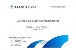 東京海上HD、正味収入保険料は前年度対比2.4%増 国内外の引受が好調に拡大