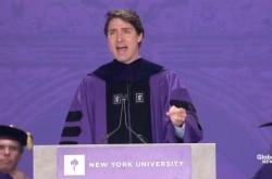 """「隣人や自分に我慢を強いる必要はない」 カナダ首相が卒業生たちに熱弁した""""真の勇気""""の価値"""