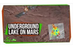 火星で初めて巨大な「地底湖」を発見 生物が見つかる可能性は?