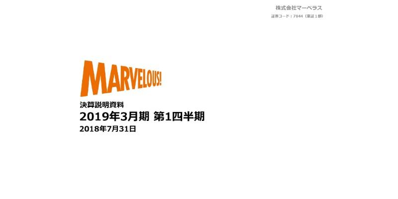 マーベラス、1Q売上高は前期比130.6% 『Fate』シリーズ最新作など国内タイトルが好調