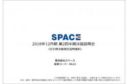 スペース、上期売上高は225.4億円 経営戦略のもと社内体制整備・強化を進める