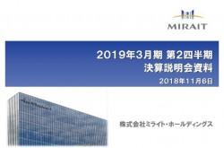 ミライトHD、2Qは増収増益 最高水準の繰越工事高を背景に全事業で売上増加