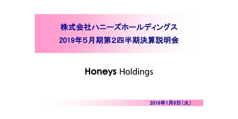 ハニーズHD、上期営業利益は前期比136.1% 日本セクターは2Qに大幅増収を達成