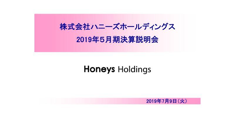 ハニーズHD、通期は増収増益 中国の店舗撤退とアセアンへの自社工場展開により経費削減