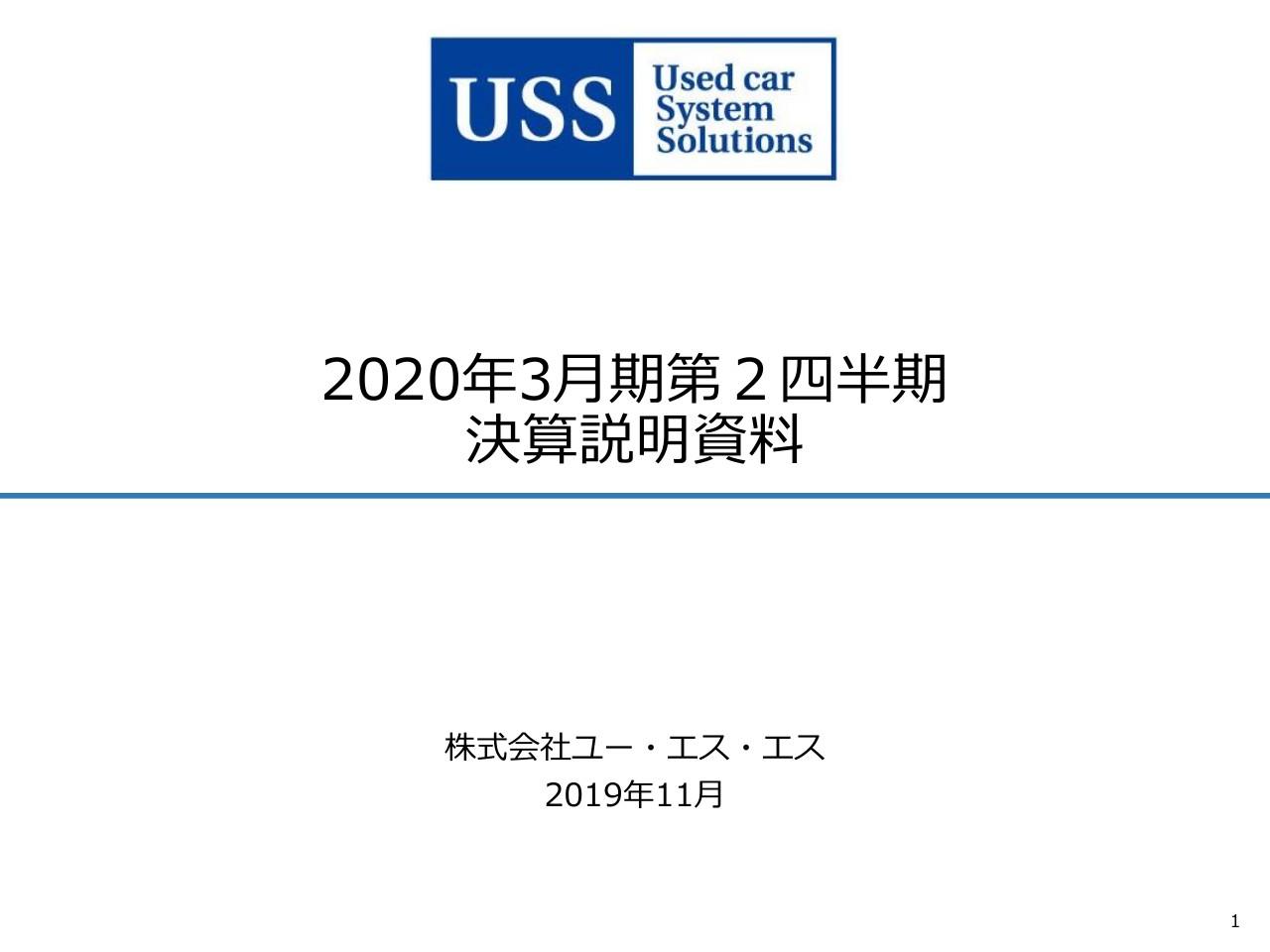 ユー・エス・エス、2Qは減収減益 グループ化したJAA会場とHAA神戸会場の出品・成約数減少が要因